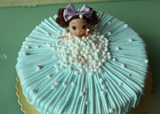 可爱的公主风蛋糕
